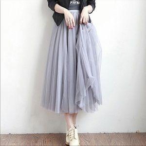 Mesh Girly Skirt